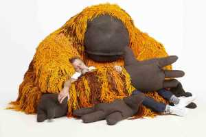 Porky Hefer's Endangered Orangutan. Courtesy Southern Guild and SFA Advisory. Picture: Antonia Steyn