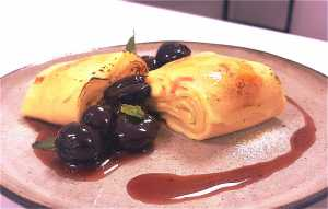 Gourmet pancake recipe