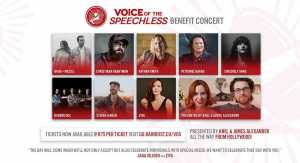 Voice of the Speechless Concert
