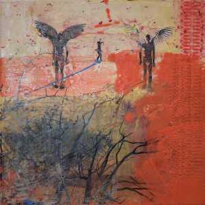 Encaustic artist Julia van Schalkwyk x