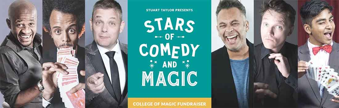 Stars of Comedy and Magic