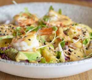 A Steenberg Tryn Prawn Salad