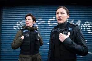 Line of Duty S6 Ep 1 Vicky McClure and Kelly_MacDonald on Britbox