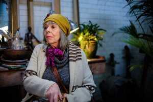Frances de la Tour Professor T Britbox SA. Picture: Lawrence Cedrowicz