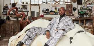 Designer Rich Mnisi. Picture: Ricardo Simal and Southern Guild