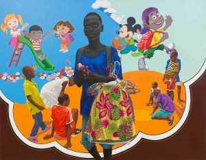 Sakhile and me Tagne William Njepe enfance volee 1993