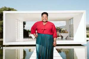 Zola Nene judges The Taste Master SA The Baking Edition